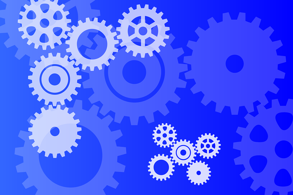 Unduh 540+ Background Biru Teknik Gratis