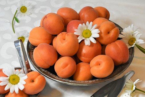 Apricots, Fruit, Stone Fruit, Sweet