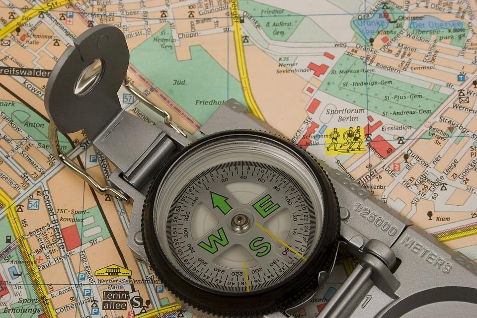 Kartta Kompassi Matkailu Ilmainen Valokuva Pixabayssa