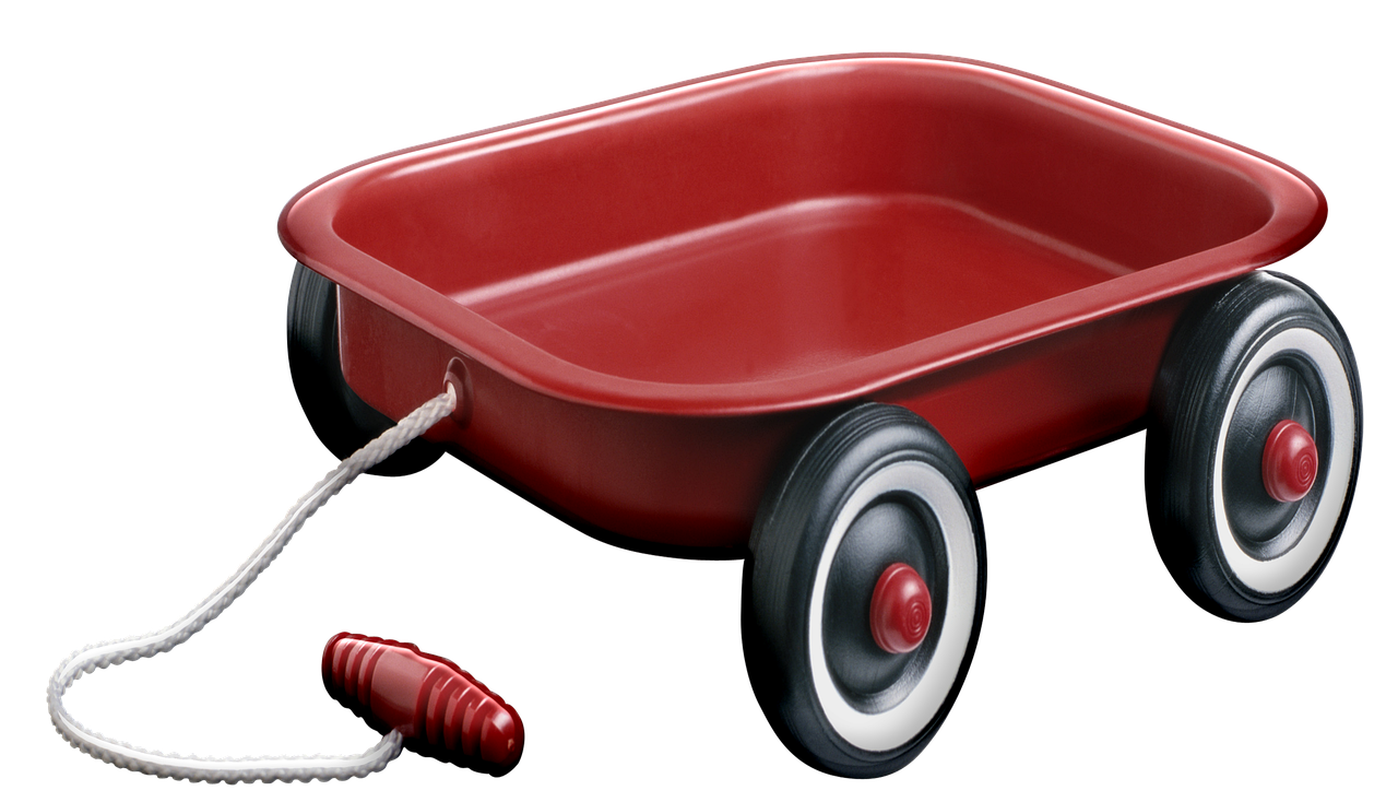 Red Wagon Toy Child Free Image On Pixabay