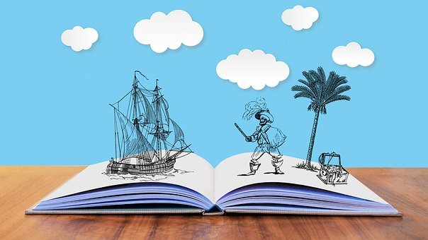 Tale, Story, Pirates, Fantasy, Treasure