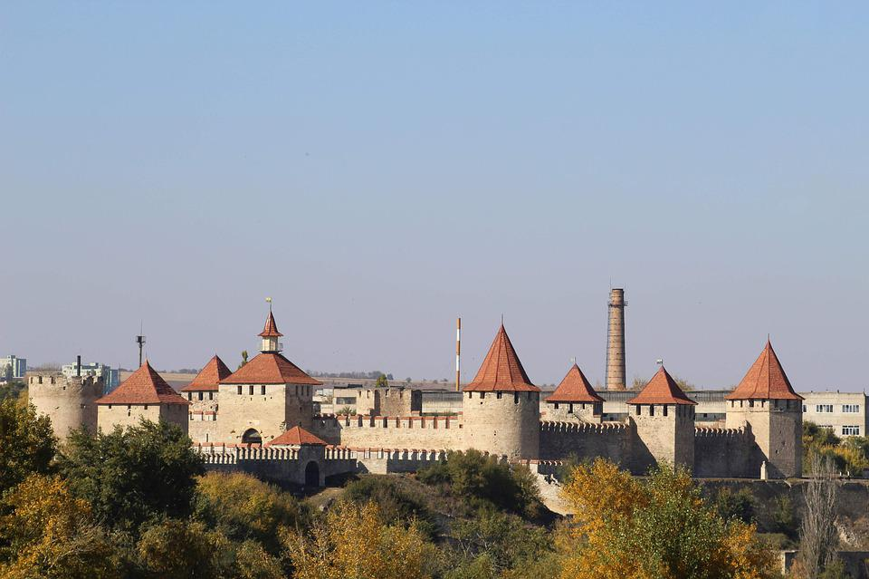 Burg, Wall, Stadt