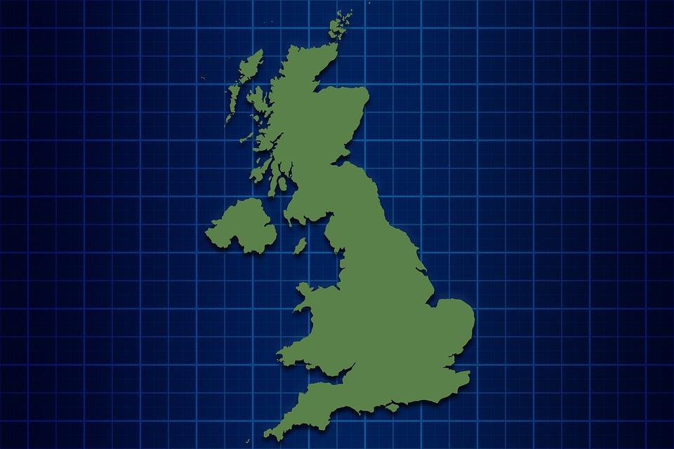 Storbritannia Kart England Gratis Bilde Pa Pixabay
