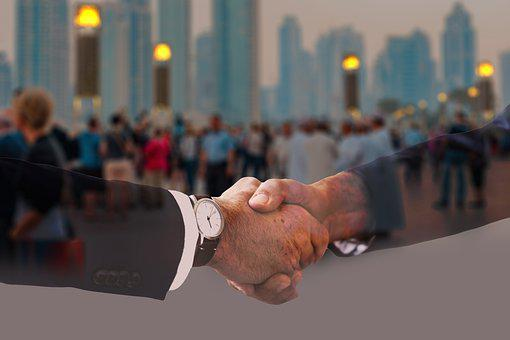 Handshake, Shaking Hands, Suit