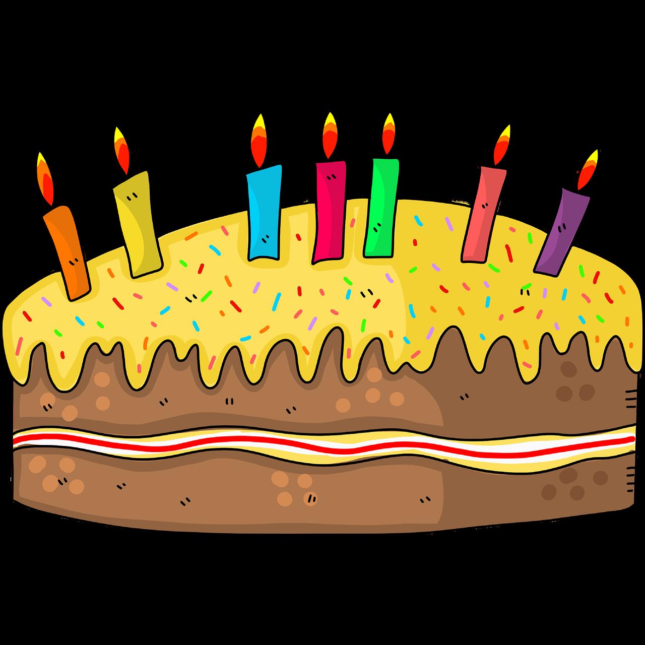Fødselsdag Kake Bursdagskake 7 - Gratis bilde på Pixabay