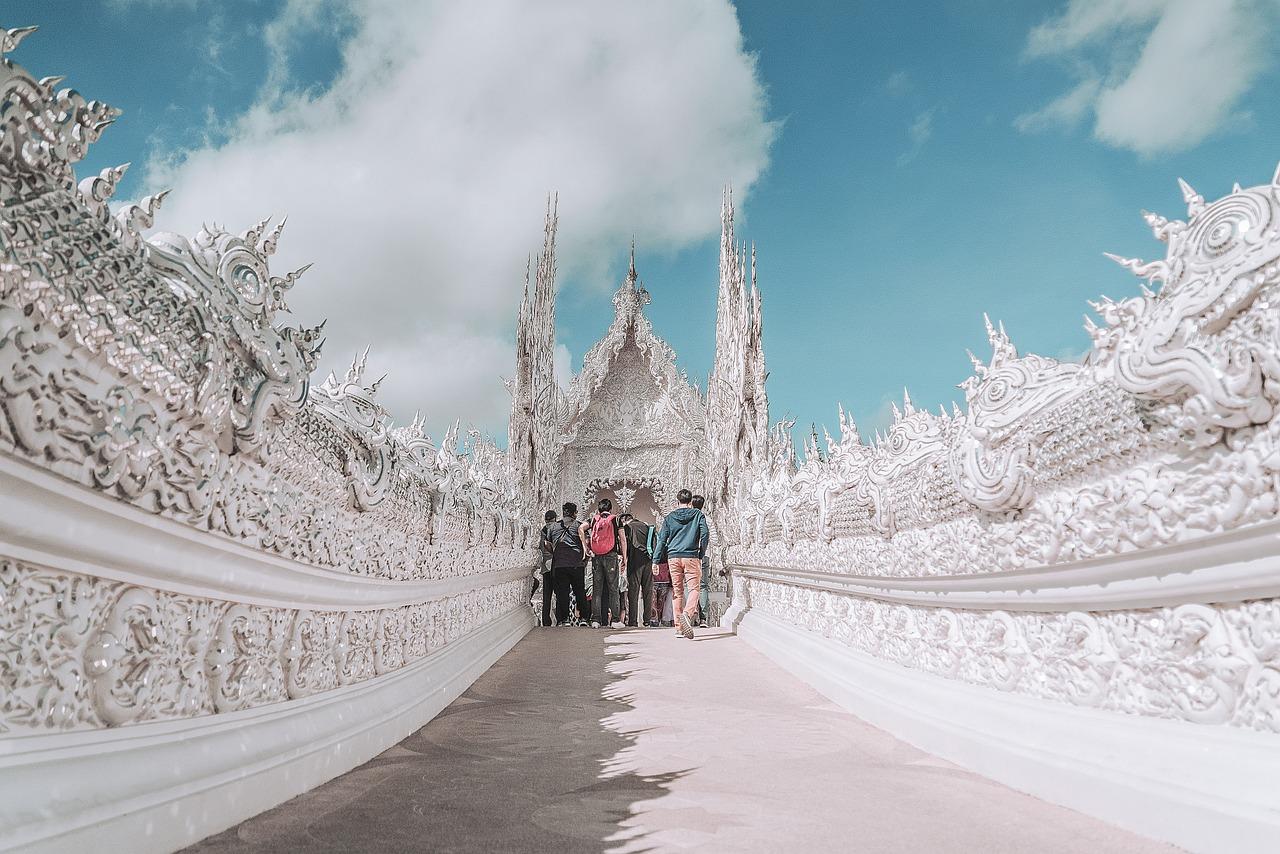 Chiang Mai White Temple Thailand - Free photo on Pixabay