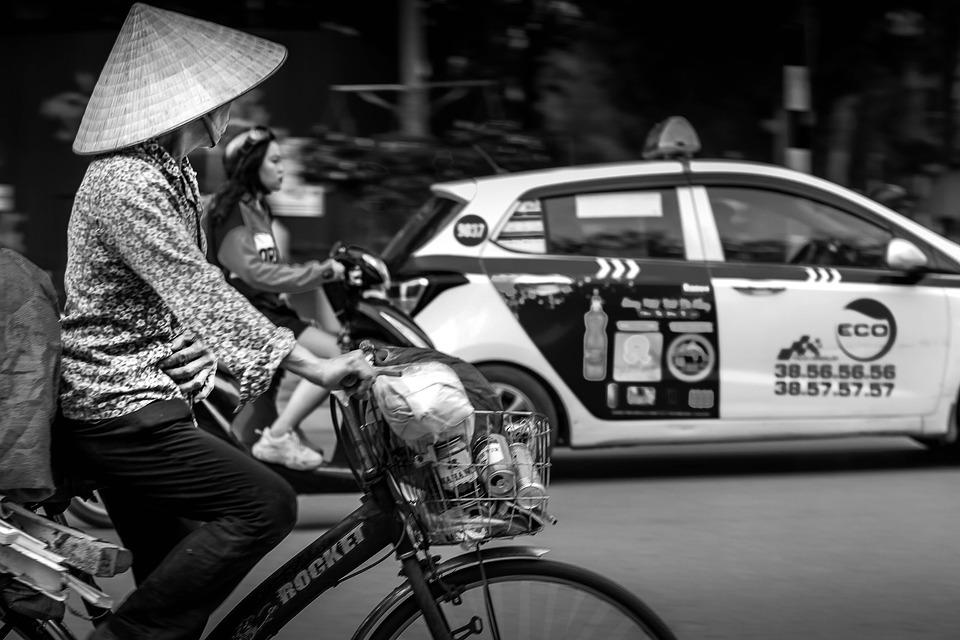 自転車, 車両, 交通, 女性, サイクリング, トランスポート, 乗る, 人, アクティビティ, ホイール