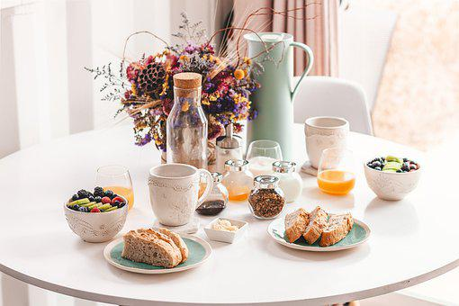 Breakfast, Minimal, Interior Design