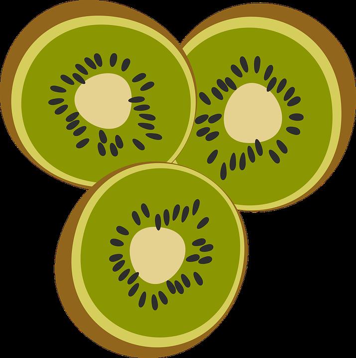 Buah Kiwi Makanan Gambar Vektor Gratis Di Pixabay