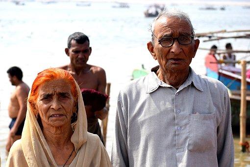 Old, Couple, Elderly, People, Retirement
