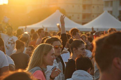 Summer Party, Beach Party, Sun, De Mens