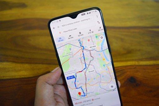 Maps, Google Maps, Navigation, Maps App