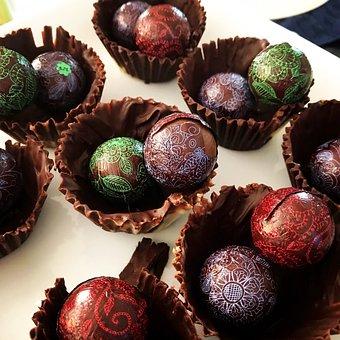 Sort chokolade fisse