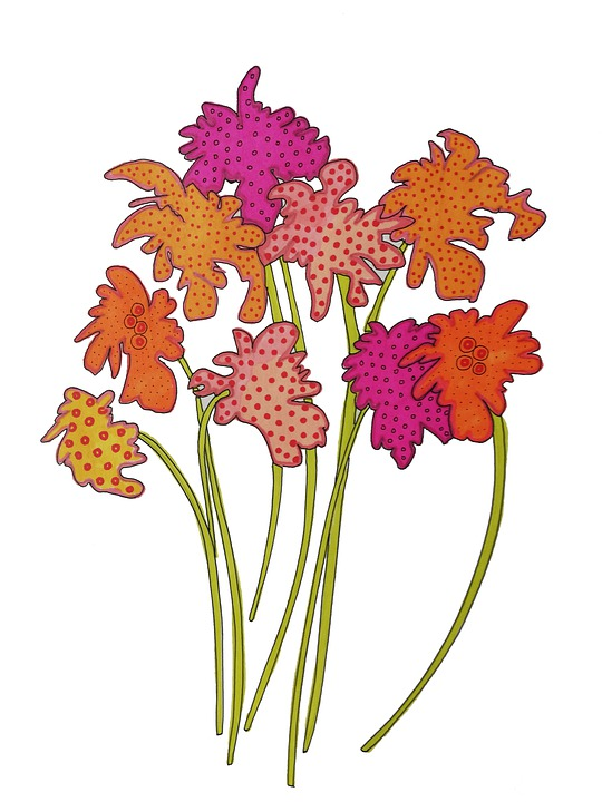 Fleurs Dessins Créatif Image Gratuite Sur Pixabay