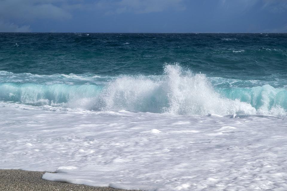 Beach, Onda, Costa, Sabbia, Carboneras, Almeria