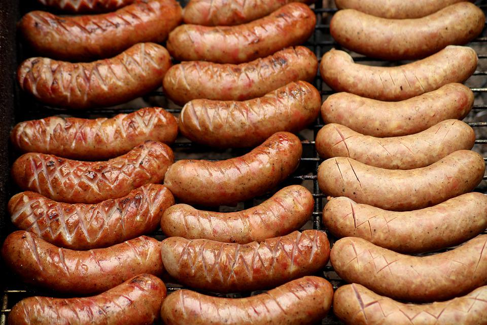 Sausage, Grill, Bbq, Meat, Eat, Food, Hot, Sausages