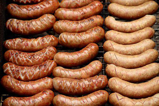 Sausage, Grill, Bbq, Meat, Eat, Food