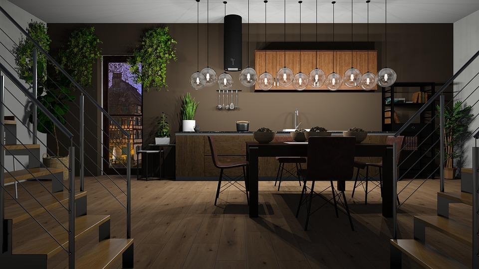 Küche Esszimmer Wohnung - Kostenloses Foto auf Pixabay