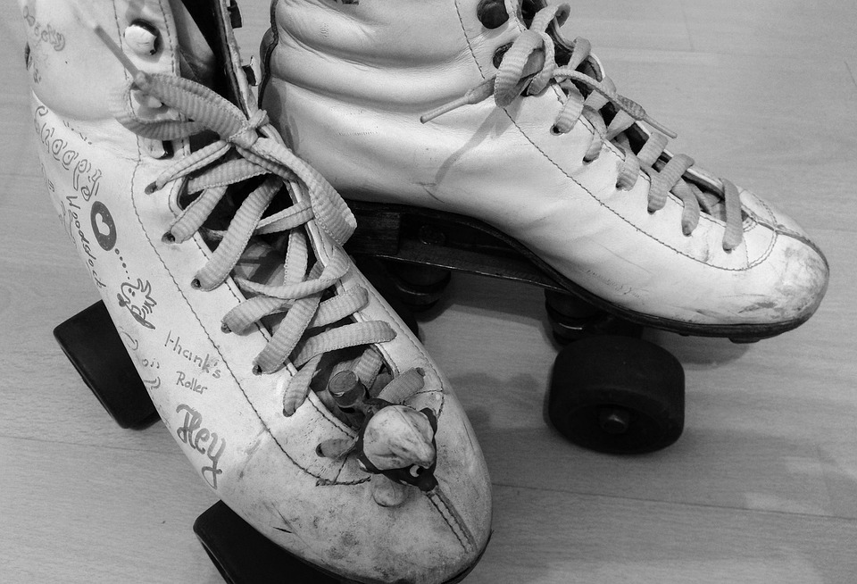 Roller Skates On Shoes
