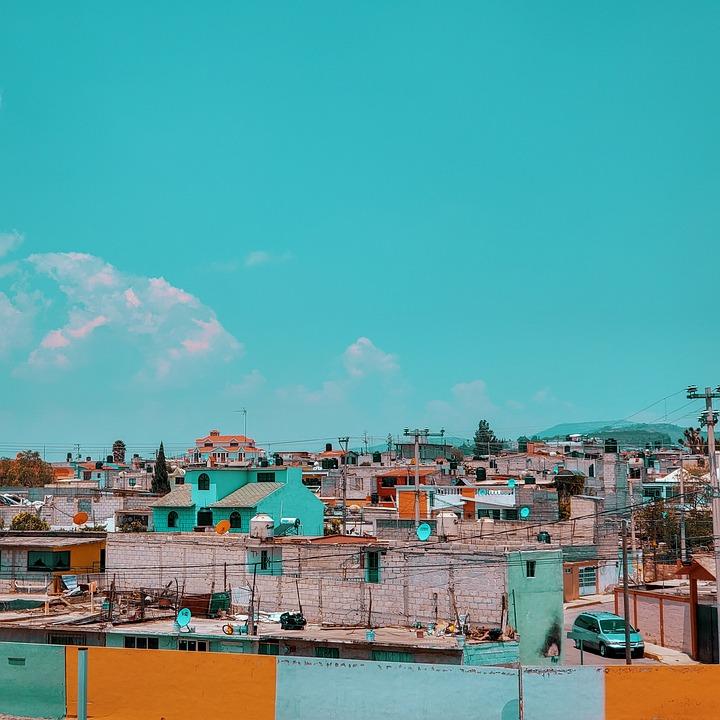 Mexico, Edificios, Casas, Arquitectura, Ciudad