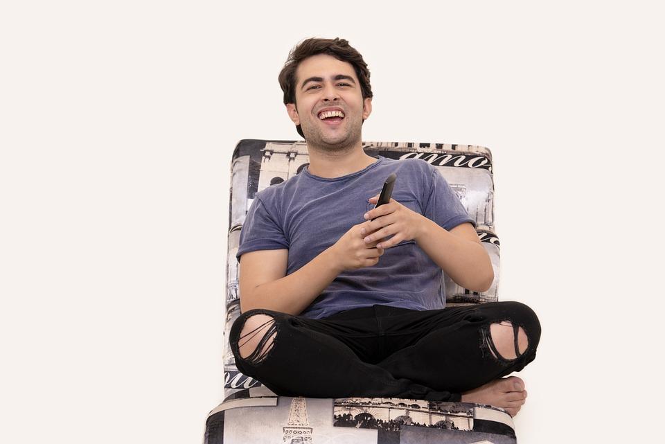 笑い, テレビ, 楽しい, プロデューサー, 俳優, 人間, 有名人, 喜び, 笑う, 笑いで, ハリウッド