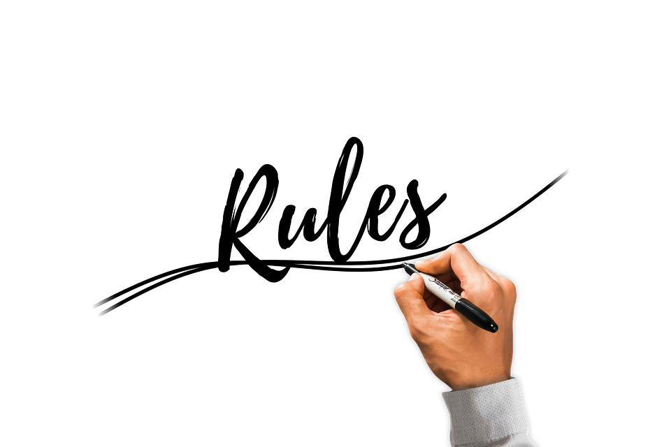 Ръка, Пиша, Правило, Регламент, Хартата