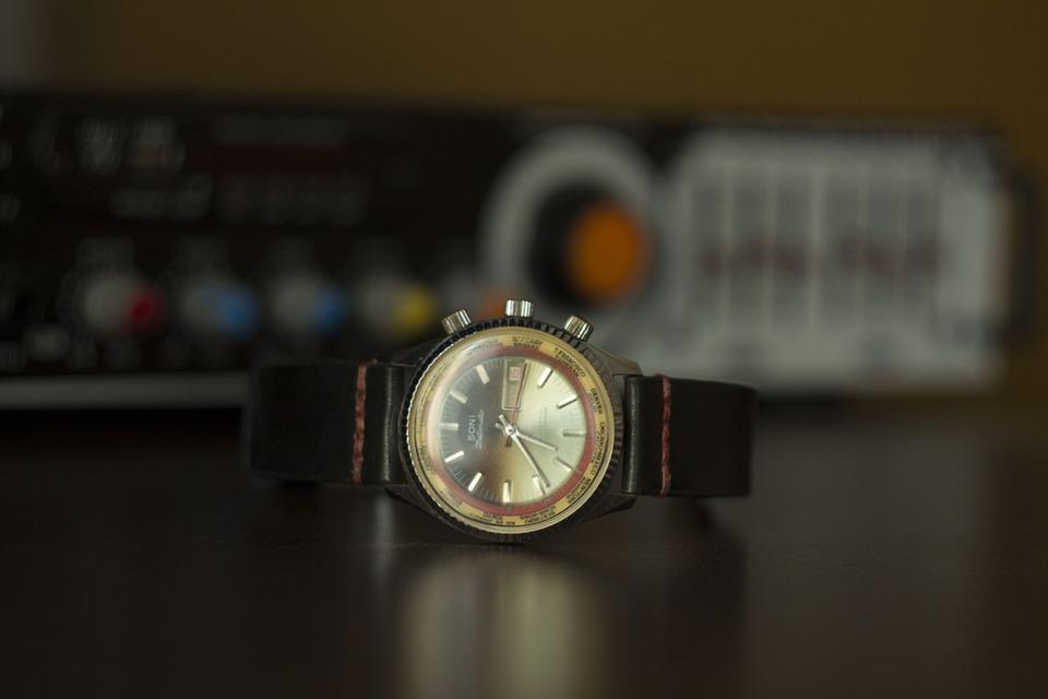 Gold Watch, Wristwatch, Antique Watch, Vintage Watch