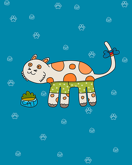 塗装, 子猫, 猫, かわいい, 肉球, キティ, 甘い, かわいいです