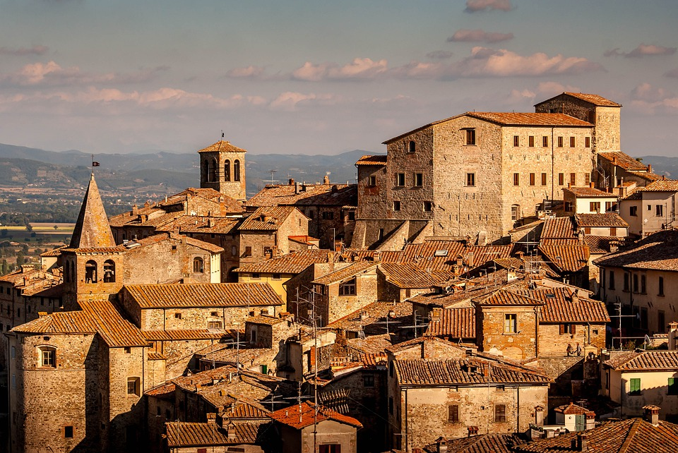Italy, Roofs, Roof, Tuscany, Architecture, City