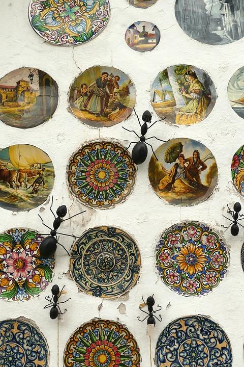 Decoratie Borden Voor Aan De Muur.Tegel Bord Wandtegel Gratis Foto Op Pixabay