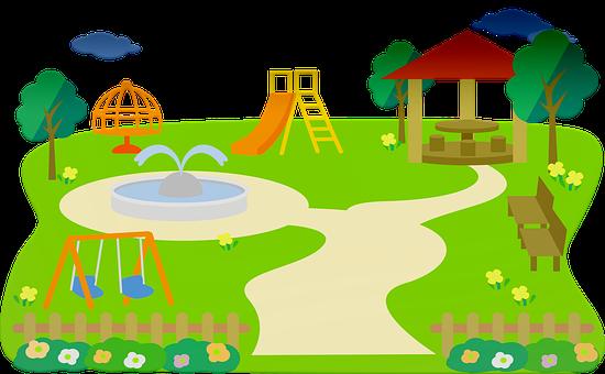 Park, Play, Slide, Children, Playground