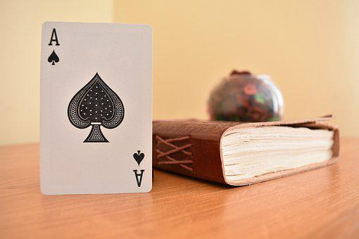 Diary, Ace, Card, Cards, Casino, Game