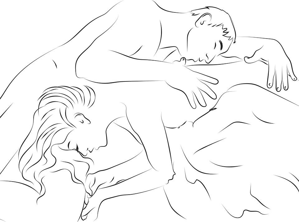 Fekete-fehér erotikus szexuális képek