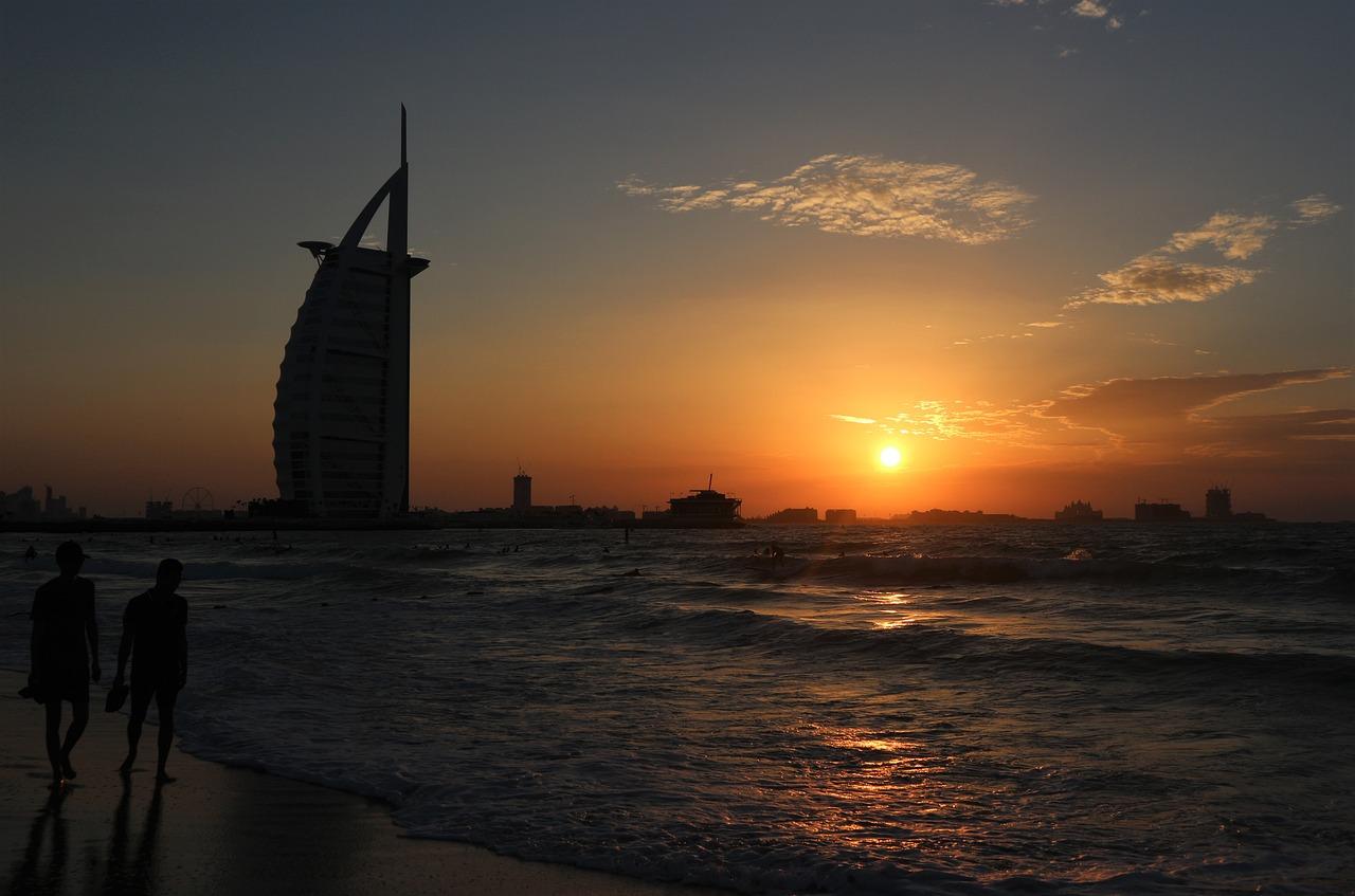 Beach resorts in Dubai