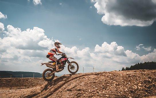 Motorbike, Enduro, Motocross, Motorcycle