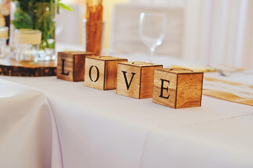 El Amor, De La Boda, Romántico, Matrimonio, Celebración