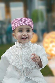 Anak Anak, Idul Fitri Mubarak, Muslim