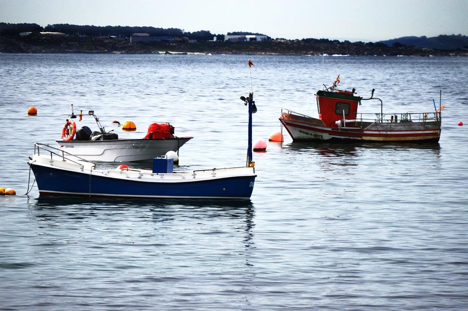 Mar, Barcos, Galicia, Pesca, Puerto