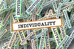 Individuality, From PixabayPhotos