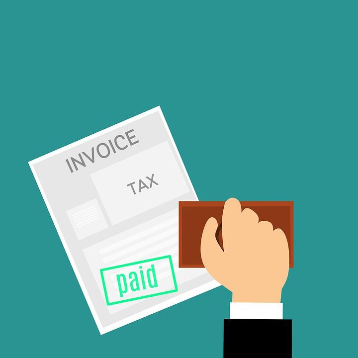 税, 請求書, 支払われる, スタンプ, 会計士, 会計, 金額, 法案, 請求, ビジネス, 購入