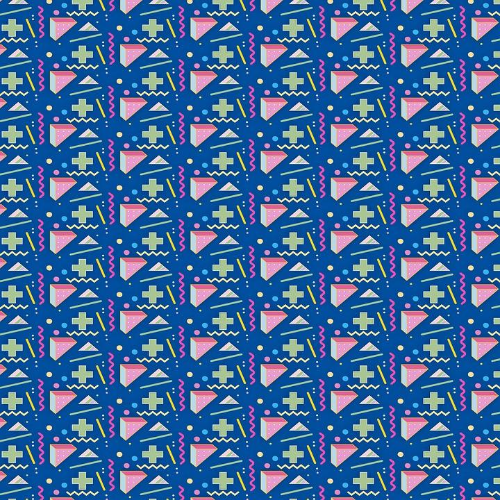 Memphis Pattern 1980'S Style - Free image on Pixabay