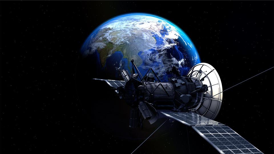 Satellite, Earth, Planet, Universe, Atmosphere