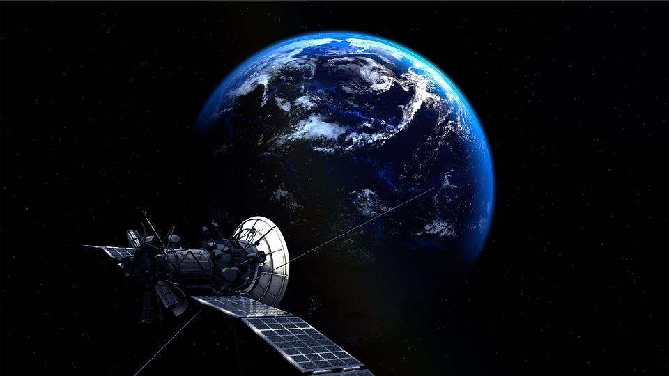 Satelita, Ziemia, Planety, Wszechświat, Atmosfera
