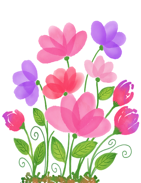 Watercolour Flowers Watercolor - Free image on Pixabay