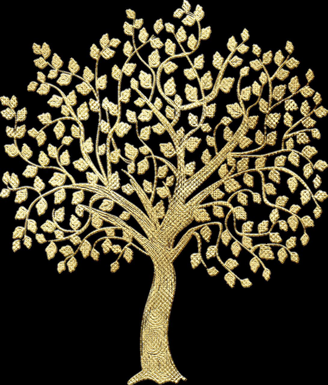 золотое денежное дерево картинка желания помощью стакана