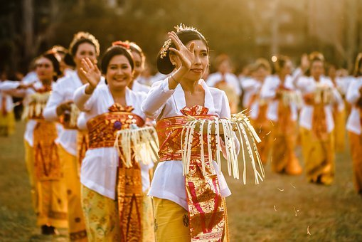 Dance, Balinese, Traditional, Women
