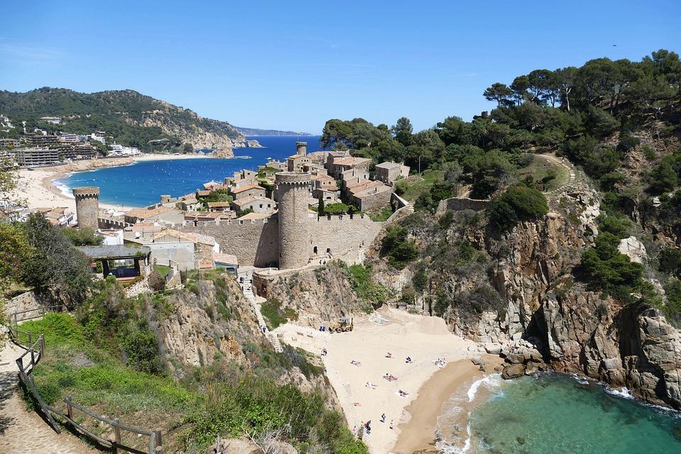 Costa Brava Spain Landscape Free Photo On Pixabay