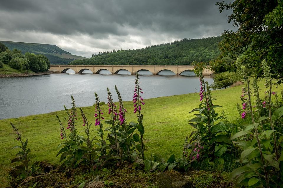 Ladybower Tározó Derbyshire - Ingyenes fotó a Pixabay-en