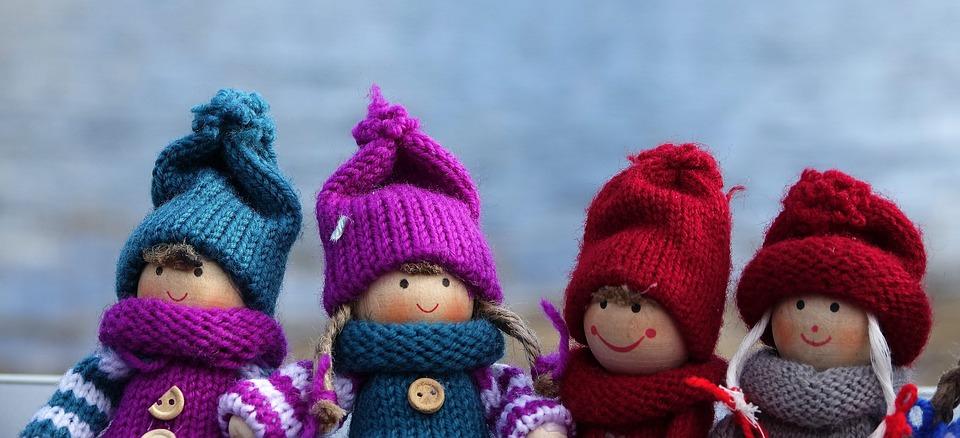 Baby Doll, Dolls, Winter Doll, Cute, Decoration