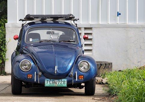 Escarabajo De Volkswagen, 1971, 1973
